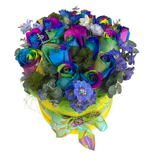 """Flowers in a box """"Color Dreams"""""""
