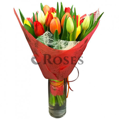 "Bouquet ""Barnaby"" 25 tulips"