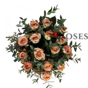 """Bouquet """"The Hill"""" 15 roses"""