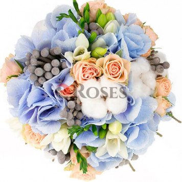 "Wedding bouquet ""Bridgetown"""